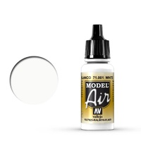 Vallejo Model Air White 17 ml Acrylic Airbrush Paint