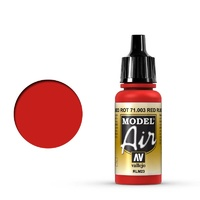 Vallejo Model Air Red RLM23 17 ml Acrylic Airbrush Paint
