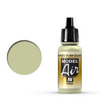 Vallejo Model Air Duck Egg Green 17 ml Acrylic Airbrush Paint