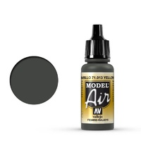 Vallejo 71013 Model Air Yellow Olive 17 ml Acrylic Airbrush Paint