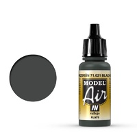 Vallejo Model Air Black Green RLM70 17 ml Acrylic Airbrush Paint