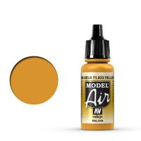 Vallejo 71033 Model Air Yellow Ochre 17 ml Acrylic Airbrush Paint