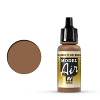 Vallejo Model Air Mud Brown 17 ml Acrylic Airbrush Paint