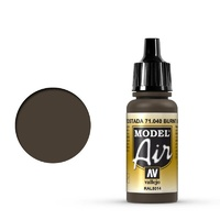 Vallejo 71040 Model Air Burnt Umber 17 ml Acrylic Airbrush Paint