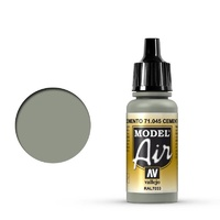 Vallejo 71045 Model Air Cement Gray 17 ml Acrylic Airbrush Paint