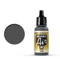 Vallejo Model Air Black Gray RLM66 17 ml Acrylic Airbrush Paint