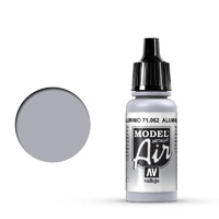 Vallejo Model Air Aluminium 17 ml Acrylic Airbrush Paint