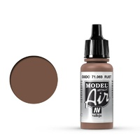 Vallejo 71069 Model Air Rust 17 ml Acrylic Airbrush Paint