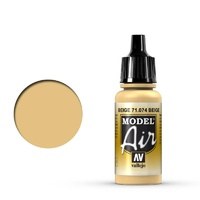 Vallejo Model Air Beige 17 ml Acrylic Airbrush Paint