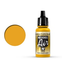Vallejo Model Air Yellow RLM04 17 ml Acrylic Airbrush Paint