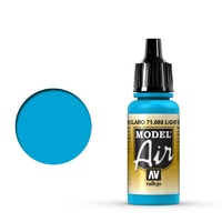Vallejo 71089 Model Air Light Sea Blue 17 ml Acrylic Airbrush Paint