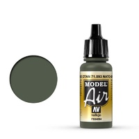 Vallejo 71093 Model Air NATO Green 17 ml Acrylic Airbrush Paint