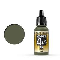 Vallejo Model Air Green RLM62 17 ml Acrylic Airbrush Paint