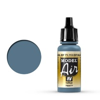 Vallejo Model Air IDF Blue 17 ml Acrylic Airbrush Paint