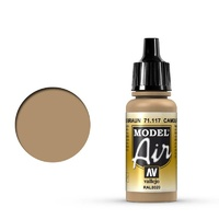 Vallejo Model Air Camouflage Brown 17 ml Acrylic Airbrush Paint