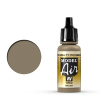 Vallejo Model Air Camouflage Gray 17 ml Acrylic Airbrush Paint