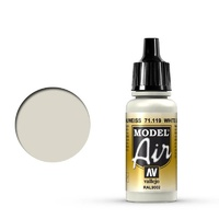 Vallejo Model Air White Gray 17 ml Acrylic Airbrush Paint