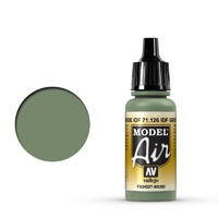 Vallejo 71126 Model Air IDF Green 17 ml Acrylic Airbrush Paint