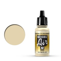 Vallejo Model Air Aged White 17 ml Acrylic Airbrush Paint