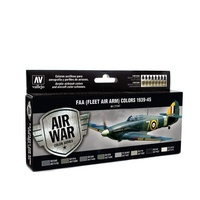Vallejo Model Air RAF & FAA Fleet Air Arm 1939-45 8 Colour Acrylic Airbrush Paint Set