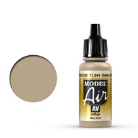 Vallejo 71244 Model Air Sand Beige 17 ml Acrylic Airbrush Paint