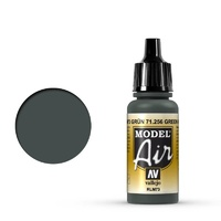Vallejo 71256 Model Air Green RLM73 17 ml Acrylic Airbrush Paint