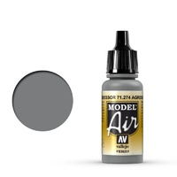 Vallejo 71274 Model Air Agressor Gray 17 ml Acrylic Airbrush Paint