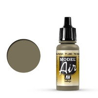 Vallejo Model Air 7K Russian Tan 17 ml Acrylic Airbrush Paint