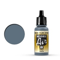 Vallejo 71299 Model Air Intermediate Blue 17 ml Acrylic Airbrush Paint
