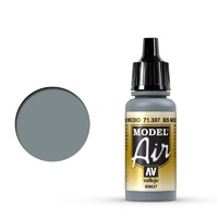 Vallejo Model Air BS Medium Sea Grey 17 ml Acrylic Airbrush Paint