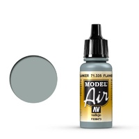 Vallejo Model Air Flanker Light Grey 17ml Acrylic Airbrush Paint