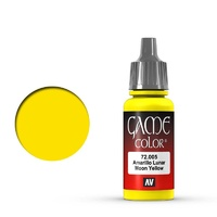 Vallejo Game Colour Moon Yellow 17 ml Acrylic Paint