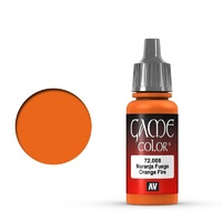 Vallejo 72008 Game Colour Orange Fire 17 ml Acrylic Paint