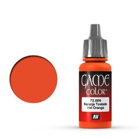 Vallejo Game Colour Hot Orange 17 ml Acrylic Paint