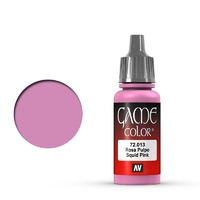 Vallejo 72013 Game Colour Squid Pink 17 ml Acrylic Paint