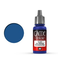 Vallejo Game Colour Ultramarine Blue 17 ml Acrylic Paint
