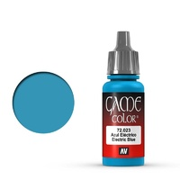 Vallejo 72023 Game Colour Electric Blue 17 ml Acrylic Paint