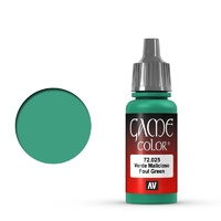 Vallejo Game Colour Foul Green 17 ml Acrylic Paint