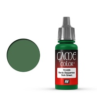 Vallejo Game Colour Sick Green 17 ml Acrylic Paint