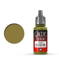 Vallejo Game Colour Camouflage Green 17 ml Acrylic Paint
