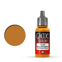 Vallejo Game Colour Scrofulous Brown 17 ml Acrylic Paint