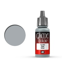 Vallejo Game Colour Silver 17 ml Acrylic Paint