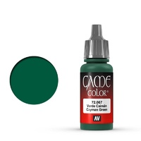 Vallejo Game Colour Cayman Green 17 ml Acrylic Paint