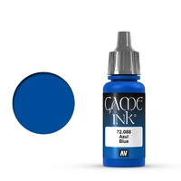 Vallejo Game Colour Ink Blue 17 ml Acrylic Paint