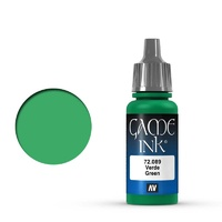 Vallejo Game Colour Ink Green 17 ml Acrylic Paint