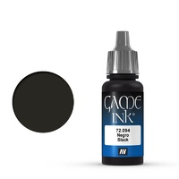 Vallejo Game Colour Ink Black 17 ml Acrylic Paint
