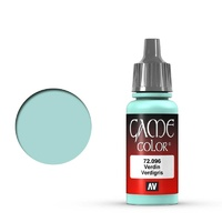 Vallejo Game Colour Verdigris Glaze 17 ml Acrylic Paint