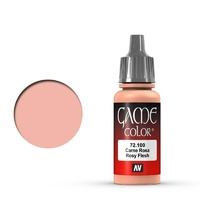 Vallejo Game Colour Rosy Flesh 17 ml Acrylic Paint