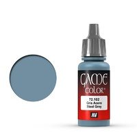 Vallejo Game Colour Steel Grey 17 ml Acrylic Paint