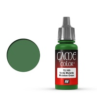 Vallejo Game Colour Mutation Green 17 ml Acrylic Paint